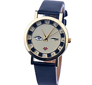 Vintage Watch Leather Watch Womens Watch Ladies Watch Girl Crystal Watch