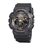 Sports Watch Heren / Uniseks Waterbestendig / Stopwatch / s Nachts oplichtend Japanse quartz Digitaal armband