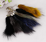 Korean version of the simple rabbit key chain tassels