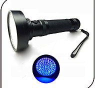 Lights LED Flashlights/Torch LED 100 Lumens 1 Mode - AA Waterproof Ultraviolet Light Counterfeit Detector Everyday Use TravelingAluminum