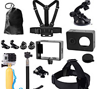 Zubehör For Gopro Accessoires Kit Alles in Einem, Für-Action Kamera,Xiaomi Camera / GoPro Hero 5 Universal / Fahhrad / Klettern / Others