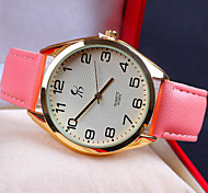 Woman's Korean Fashion Leisure  Belt Watch Strap Watch