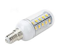 Marsing E14 / E26/E27 6W 36 SMD 5730 500-600 LM Warm White / Cool White T LED Corn Lights AC 220-240 V
