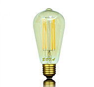E26 E27 B22 110V 220V ST64 4W 4LED Bulb Edison Retro Led Bulb
