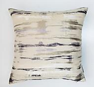 Colorful Stripe Jacquard  Cushion Cover-Blue