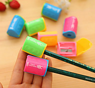 1PC Pencil Knife Students  Pencil Sharpeners Cutting Pen Implement Triangular Cylindrical Pencil Sharpener(Style random)