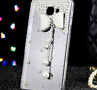 For Samsung Galaxy Case Rhinestone / Transparent Case Back Cover Case 3D Cartoon Acrylic Samsung A9