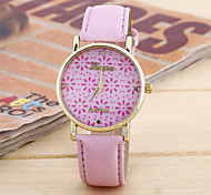 Women's The New Fashion Trend Small Chrysanthemum Litchi Grain Belt Watch(Assorted Colors) Cool Watches Unique Watches