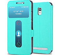 PU Leather Full Body Cases for Lenovo A3860 Mobile Phone