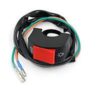 "VAWiK Motorcycle Black Fog Spot Light Lamp Headlight On Off Switch 7/8"" 22mm Bar"