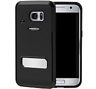 Fashion Plastic Material Back Cover for Galaxy S7/Galaxy S7 Edge