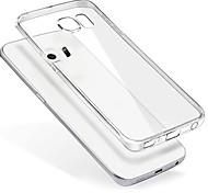 cubierta de silicona trasera transparente para Samsung Galaxy s7