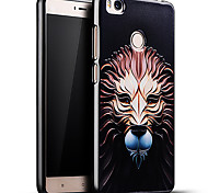 Relief Pattern Silicone Material Back Cover for Mi 4S