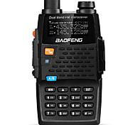 BAOFENG Portátil / Digital UV-5R 4TH Rádio FM / Comando por Voz / Dual Band / Dual Display / Dual Standby / Tela LCD / CTCSS/CDCSS1,5 - 3