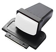 Rechteck Drucker Nagelkunst Stempel und Schaber für DIY Nagelplatte Set - weiß