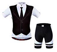 Wosawe Bike/Cycling Padded Shorts / Jersey / Jersey + Shorts / Sweatshirt / Shorts / Arm Warmers / Tops Unisex Short SleeveBreathable /