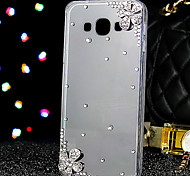 Luxury TPU and Acrylic Material Back Cover for Samsung Galaxy A8