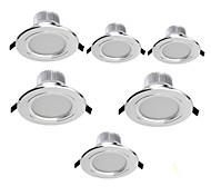 7W LED Deckenstrahler Eingebauter Retrofit 15 SMD 5630 700 lm Warmes Weiß / Kühles Weiß Dekorativ AC 85-265 V 6 Stück