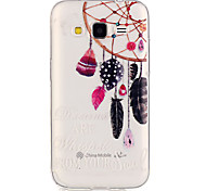 Dreamcatcher patterntransparent TPU di caso per il Galaxy Grand Prime / Galaxy nucleo prime