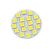 8W G4 Focos LED MR11 18 SMD 5730 450-550 lm Blanco Cálido / Blanco Fresco / Blanco Natural Regulable DC 12 V 1 pieza