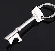 из нержавеющей стали ключ открывалка ключ формы цепи кольцо брелока