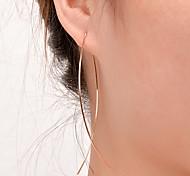 Жен. Серьги-гвоздики Простой стиль европейский Мода бижутерия Медь Бижутерия Бижутерия Назначение Для вечеринок Повседневные