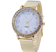 Woman's  Marble Sun Line Mirror Watch Cool Watches Unique Watches