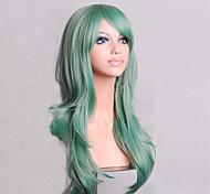 Fashion Color Cartoon Colored Wigs Special Masquerade 70 CM Mint Green Wig