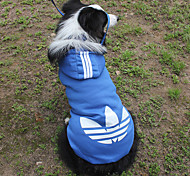 3XL~9XL Dog Hoodie Red / Black / Green / Orange / Rose / Light Blue / Dark Blue  Sport Fashion-Lovoyager