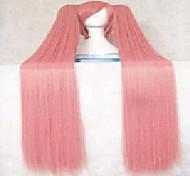 жен. Розовый Прямые Искусственные волосы парик Костюм