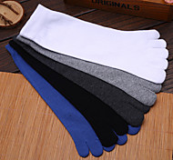 Outdoor Men's Socks Yoga Anti-skidding / Sweat-wicking Spring / Autumn / Winter Free Size