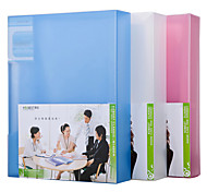 Multifunction Portable Files Folders & Filing for Office 40pages Random Colors