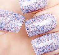 Ekbas Environmentally Safe Sugar Gum Multicolor Matte Nail Glue 16ML Nail Polish