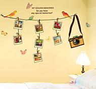 Wall Stickers Wall Decals, Fashion Originality Photo Frame PVC Wall Sticker