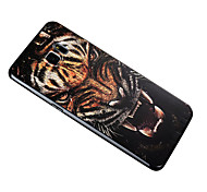 3D Relief Graphic Pattern Fashion Silicone Material Back Cover for Samsung Galaxy S6 edge plus