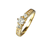Gift Choice Party Style Gold Plated Ring