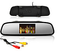 "4.3"" Car Rearview Mirror LCD Display Monitor+170° Wide Angle Reverse Parking Camera"