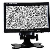 monitor do carro TFT-LCD retrovisor de 7 polegadas com o canal 2 av