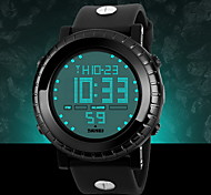 Men's Big LCD Screen Digital Sports Watch