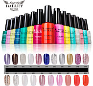 1Pcs UV Gel Nail Polish Long-Lasting Nail Gel Soak-off LED Lamp Fingertip Ballet Gel Polish 12ML 91-100 Colors