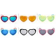 20 coppie del ragazzo 100% 400UV occhiali da sole creativo per casuale (colore della miscela)