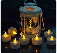 1pcs Small Led Candles With Remote Control Light Smokeless Flameless Electronic Flash Yellow Flicker Light Candle