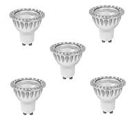 5 pcs GU10 9W 1 cob 810 lm quentes MR16 LED branco holofotes ac 85-265 v