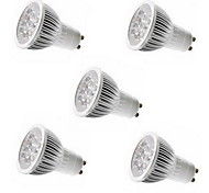 5W E14 / GU10 / GU5.3(MR16) / E26/E27 LED-spotlampen MR11 5 SMD 550 lm Warm wit / Koel wit Decoratief AC 85-265 V 5 stuks