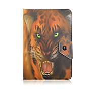 Fashion Animal Pattern 7 Inch Tablet Case Universal Leather Stand Case Cover For 7 Inch Tablet PC Magnetic Flip Cover