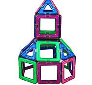 blocchi magnetici, assemblare i giocattoli educativi magnetici calamita per i bambini-68 pezzi