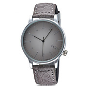 Men FEIFAN Brand Casual Watches Leather Strap Simple Quartz Wristwatch Cool Watch Unique Watch