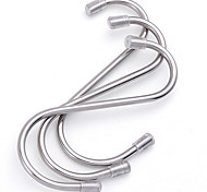 S Design Stainless Steel Hook 2 PC(L)