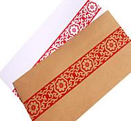 нет. 5 красных антикварные старые конверты (случайным образом)