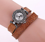 Women's Leather Belt Winding Watch Cool Watches Unique Watches
